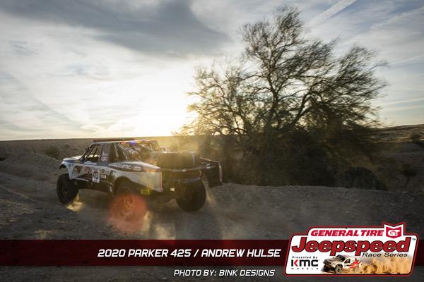 Andrew Hulse, Jeepspeed, General Tire, KMC Wheels, Parker 425, Bink Designs