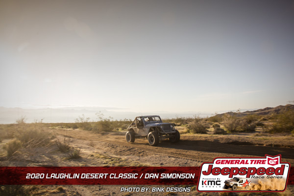 Jeepspeed, Dan Simonson, Laughlin Desert Classic, General Tire, KMC Wheels, Bink Designs