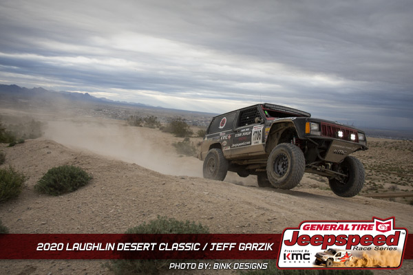 Jeepspeed, Jeff Garzik, Laughlin Desert Classic, General Tire, KMC Wheels, Bink Designs