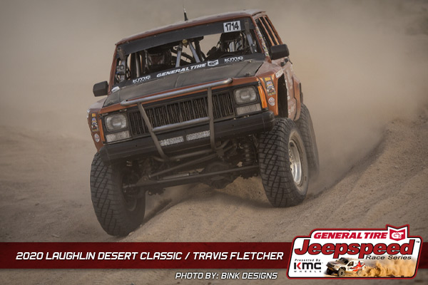 Jeepspeed, Travis Fletcher, Laughlin Desert Classic, General Tire, KMC Wheels, Bink Designs