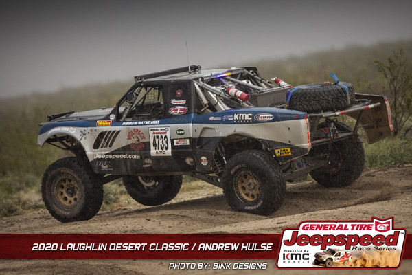 Jeepspeed, Andrew Hulse, Laughlin Desert Classic, General Tire, KMC Wheels, Bink Designs