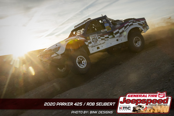 Rob Suebert, Jeepspeed, General Tire, KMC Wheels, Parker 425, Bink Designs