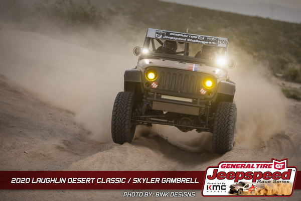 Jeepspeed, Skyler Gambrell, Laughlin Desert Classic, General Tire, KMC Wheels, Bink Designs