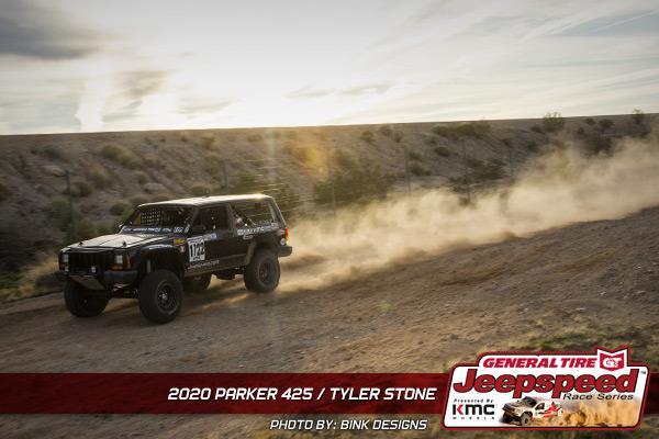 Tyler Stone, Jeepspeed, General Tire, KMC Wheels, Bink Designs, Parker 425