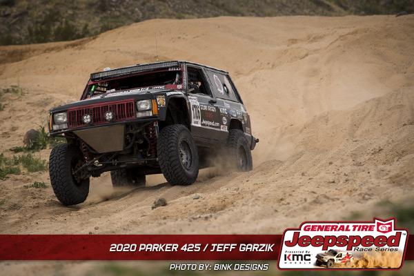 Jeff Garzik, Jeepspeed, General Tire, KMC Wheels, Best In The Desert, Bink Designs