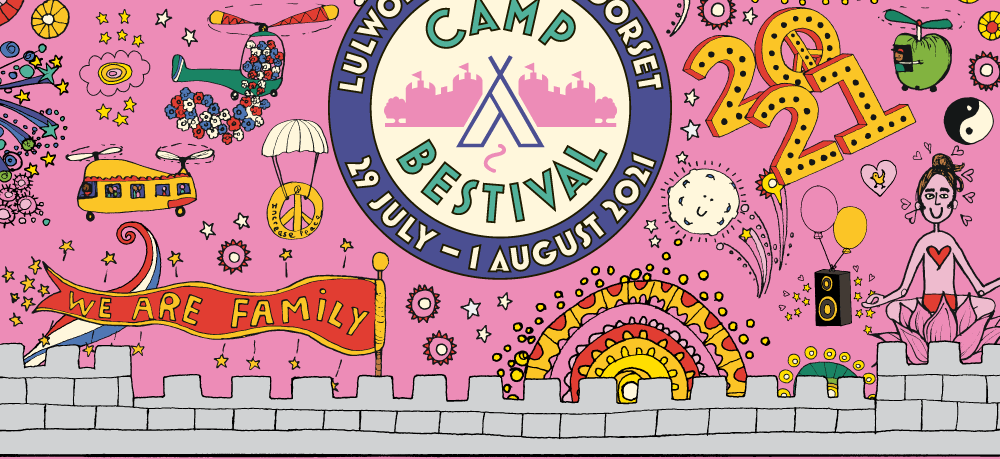 Camp Bestival: Day splits announced & Day Tickets on sale 2