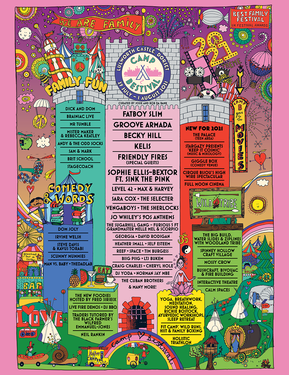 Camp Bestival: One month to go - more stages & acts announced 7