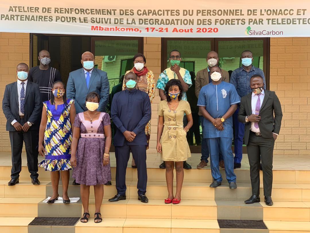 Cameroon training participants