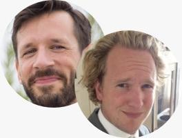 Thomas Alderse (The Bowmen Group) and Thomas Rengersen (Rabobank)