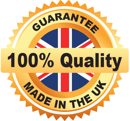100% Quality, Made in the UK