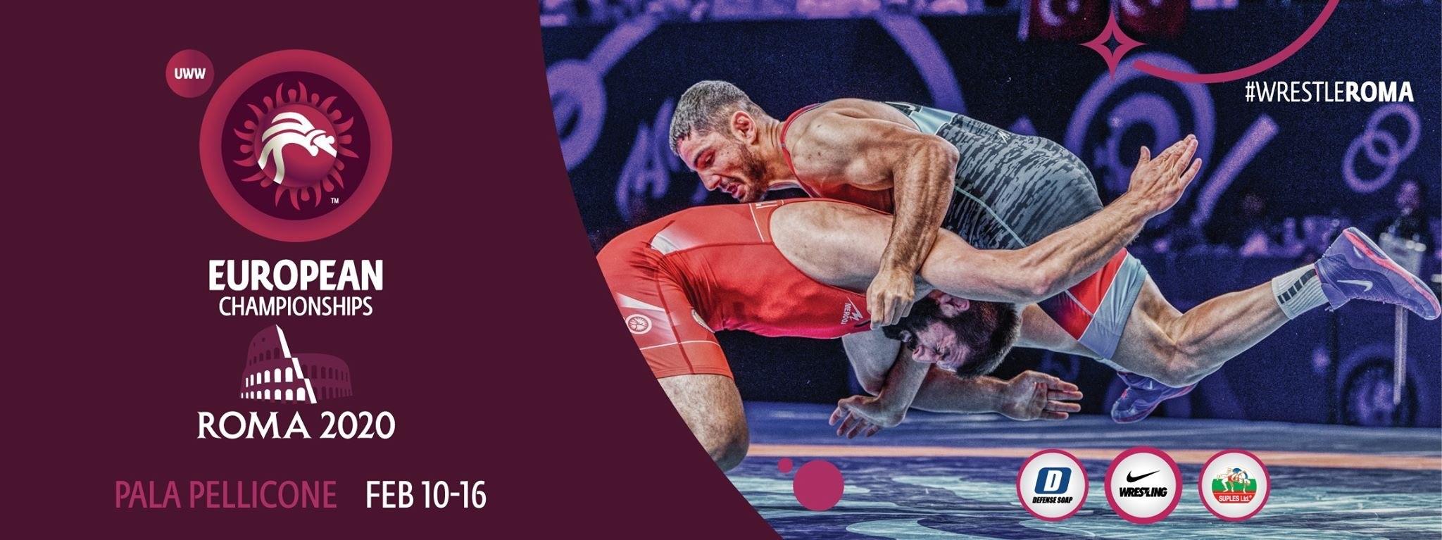 European Championchips | Ringen | Roma 2020 | Pala Pellicone | Februar