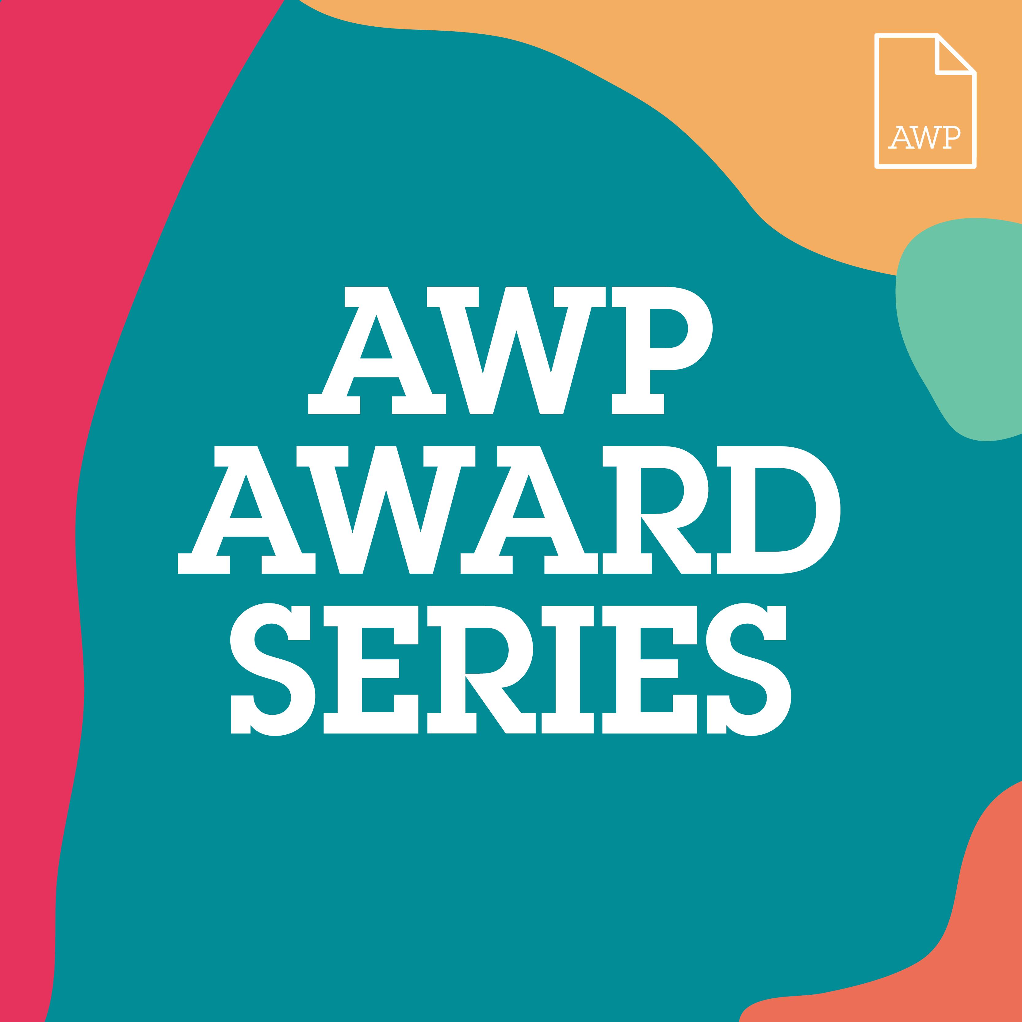 Image with AWP Award Series text