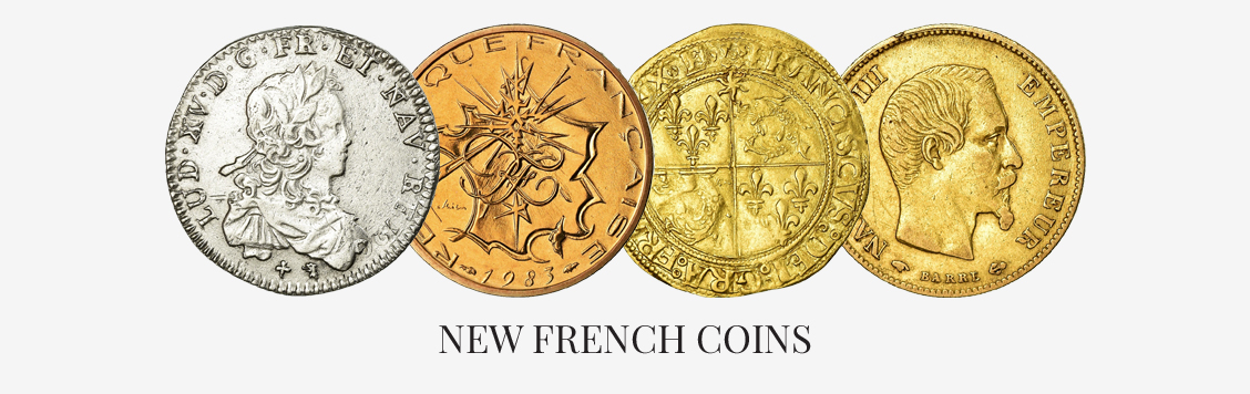 New French coins
