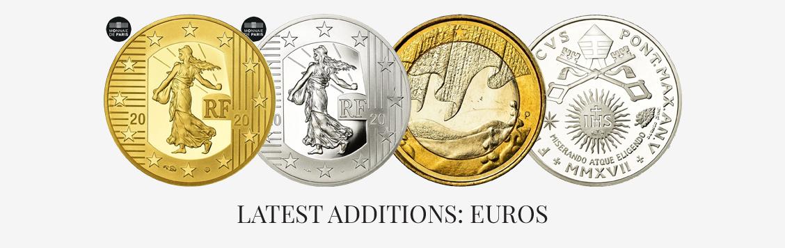 Latest additions: Euros