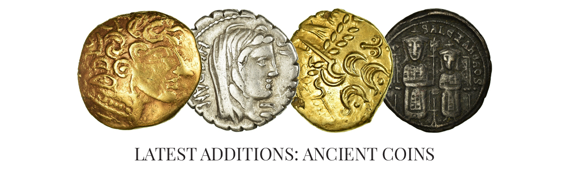 Latest additions: Ancient coins
