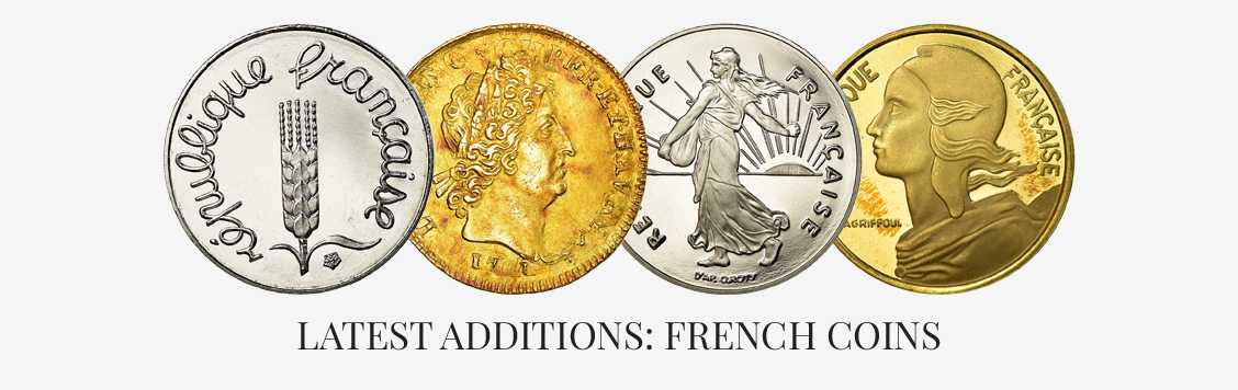Latest additions: French coins
