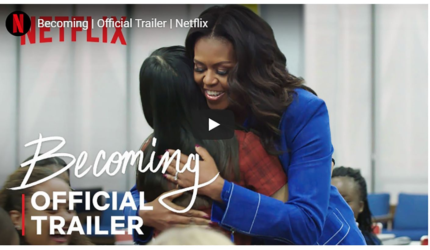 Preview of Michelle Obama's Documentary on Netflix
