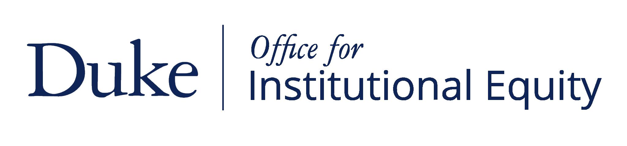 Duke OIE Logo