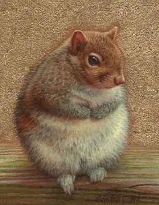 Bunny Squirrel by Rachelle