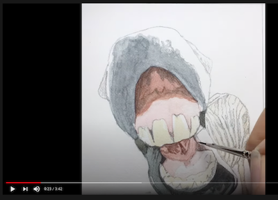 Watch a video of Rachelle Siegrist painting