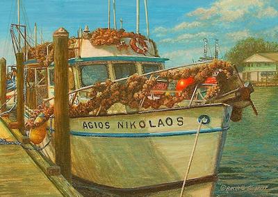 The Agios Nikolaos by Rachelle Siegrist