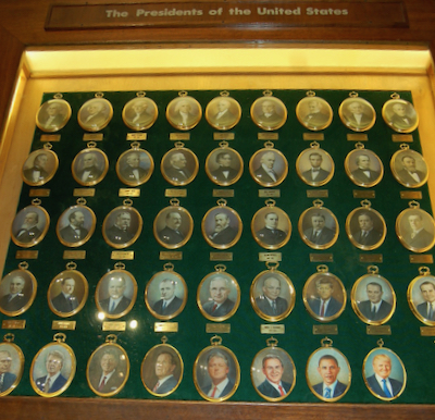 Presidential Portrait Miniatures