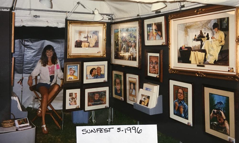 Rachelle Siegrist at Sunfest 1996