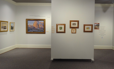 Siegrist paintings on display at the Customs House Museum