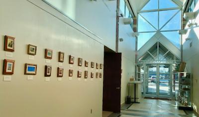 Siegrist Exquisite Miniatures Exhibition at the Norfolk Arts Center
