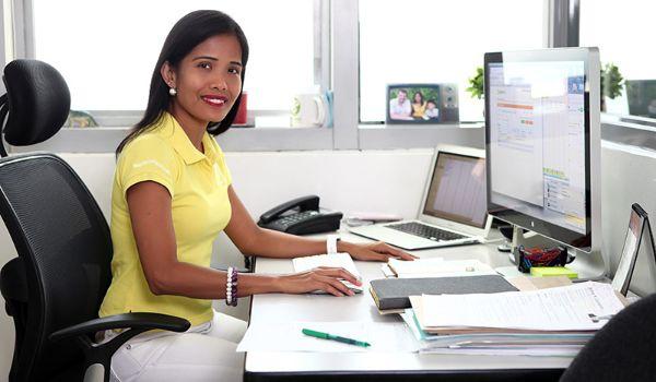 Pamela Skouhus – fotograferet på sit kontor på billedet ovenfor – er HR leder i firmaet 1902 Software Development.