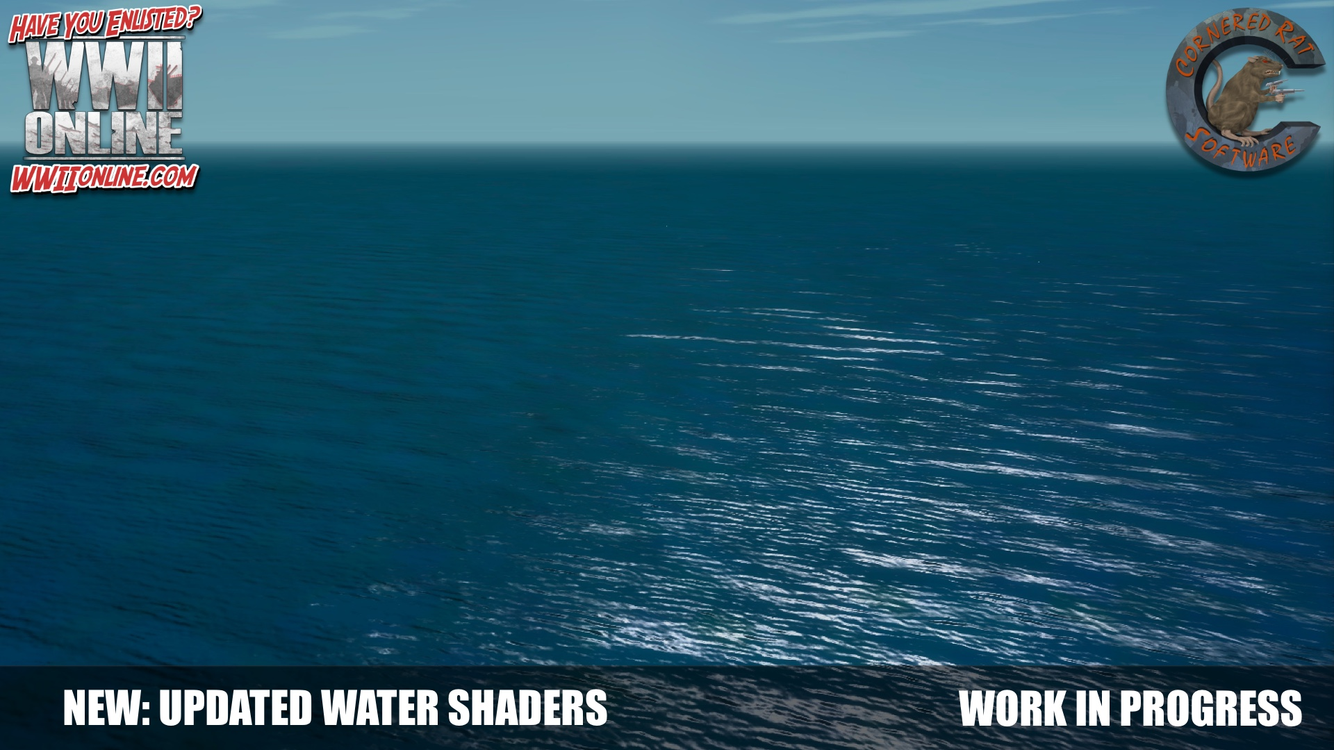New water shaders in progress