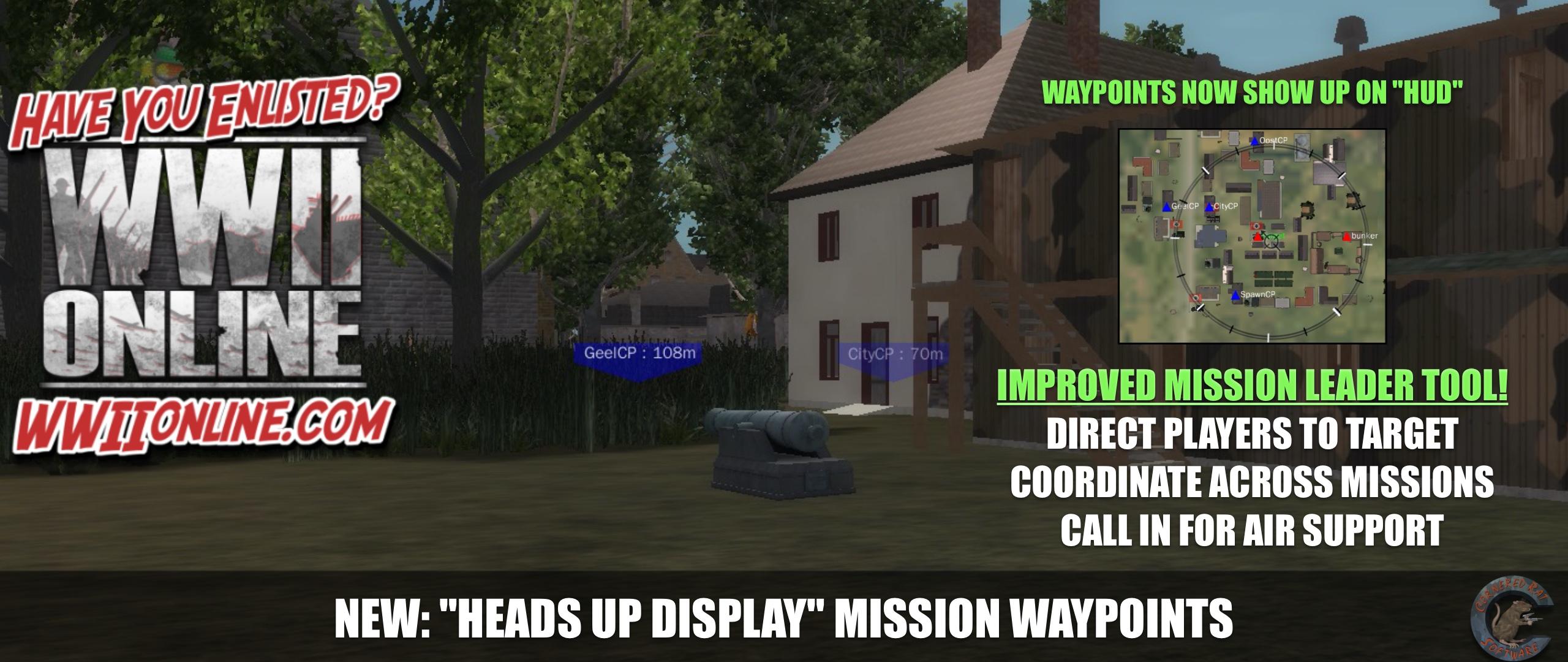 HUD Waypoint Fixes / Optimization