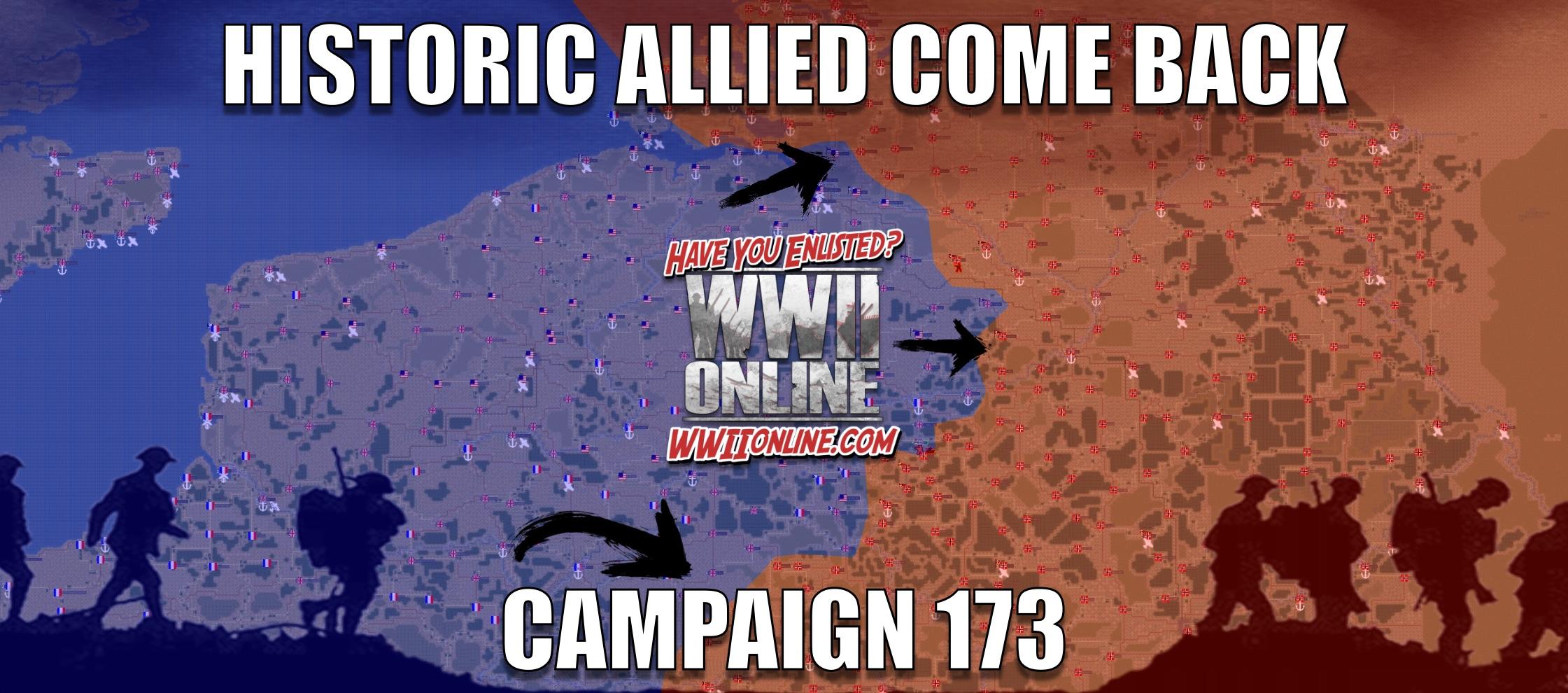 Campaign 173 comeback