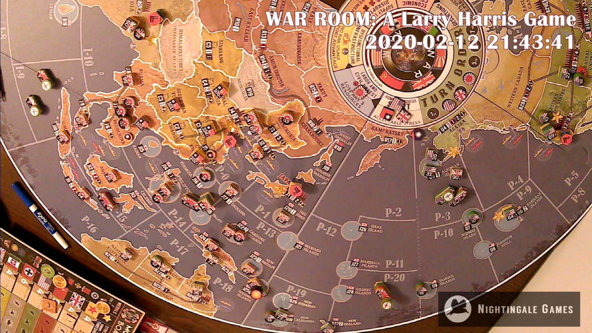 LIVE War Room test