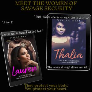 Savage Security Book Series _ Lauren