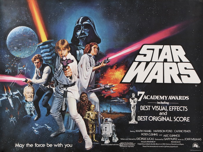 Star Wars Original Vintage Movie Poster