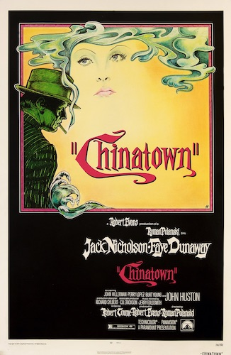 Chinatown Original Vintage Movie Poster