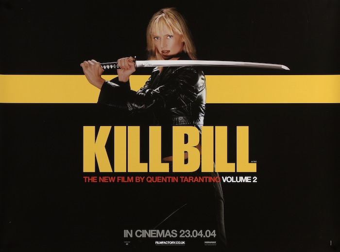 Kill Bill Original Vintage Movie Poster