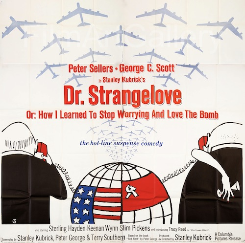 Peter Sellers Dr Strangelove Original Vintage Movie Poster