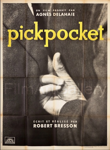 Pickpocket Original Vintage Movie Poster