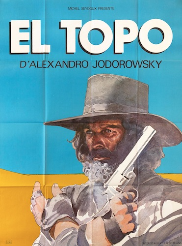 El Topo Original Vintage Movie Poster