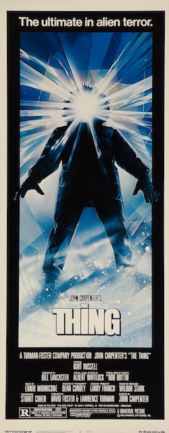 The Thing Original Vintage Movie Poster