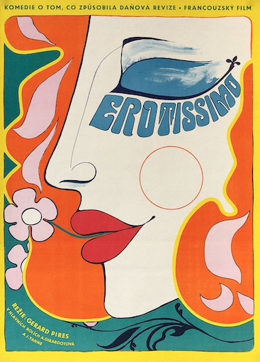 Erotissimo Original Vintage Movie Poster