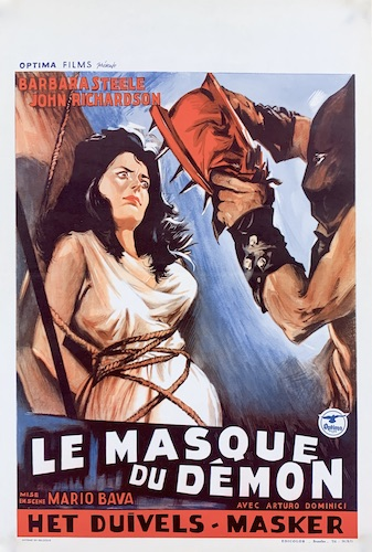 Black Sunday La Maschera Del Demonio Original Vintage Movie Poster