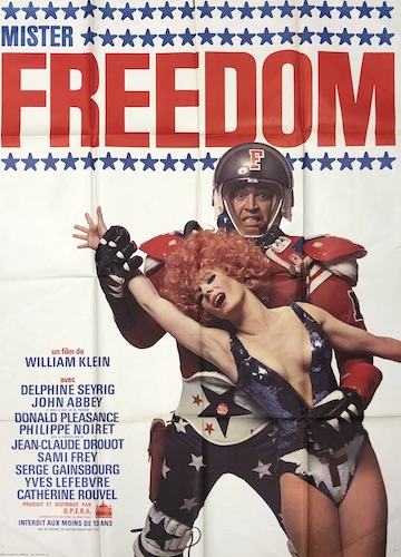 Mister Freedom Original Vintage Movie Poster