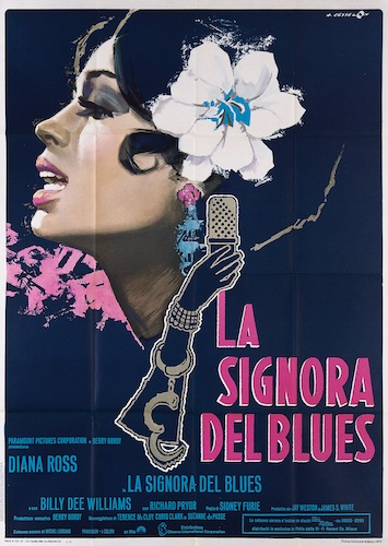 Lady Sings The Blues Original Vintage Movie Poster