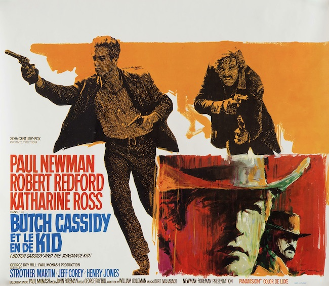 Butch Cassidy and the Sundance Kid Original Vintage Movie Poster