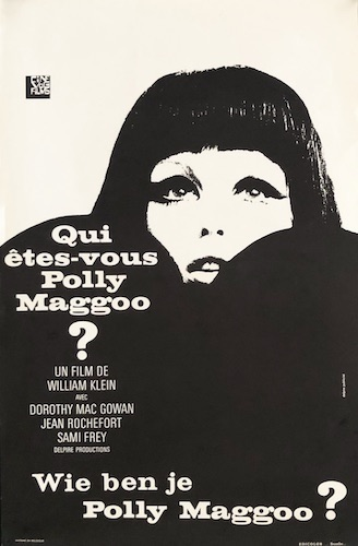 Who Are You Polly Maggoo Original Vintage Movie Poster