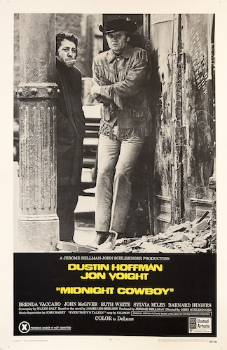 Midnight Cowboy Original Vintage Movie Poster
