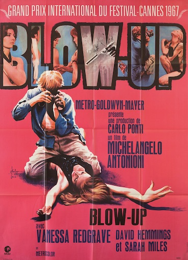 Blow Up Original Vintage Movie Poster